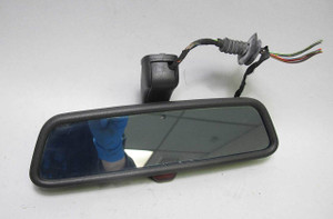 BMW E39 5-Series E46 Early Interior Rearview Mirror Auto-Dimming Alarm LED 97-99
