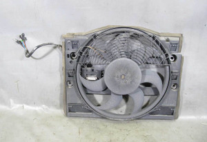 BMW E46 3-Series Auxiliary AC Cooling Electric Fan Broken Connector 1999-2006 OE
