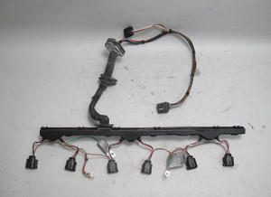 2004-2005 BMW E60 5-Series M54 Early Ignition Coil Wiring Harness Complete USED