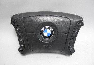 BMW E38 7-Series E39 Late Model Steering Wheel Airbag for Heated Wheel USED OEM