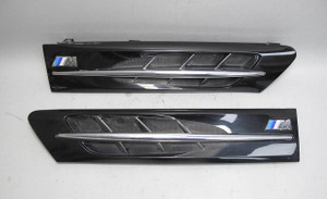BMW Z3 M Roadster Coupe ///M Factory Side Hood Grille Pair Black Pair USED OEM