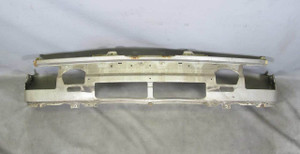 1986-1990 BMW E30 3-Series Front Header Nose Valance Salmon Silver USED OEM