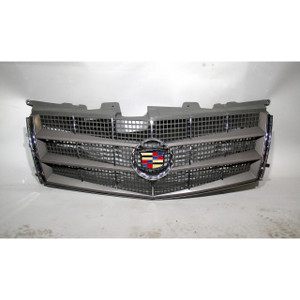 2011 Cadillac CTS Coupe Front Grille W/ Emblem and Chrome Accents 25896043 OEM
