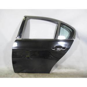 2006-2011 BMW E90 3-Series Sedan Left Rear Drivers Door Shell Black 2 USED OEM