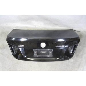 2006-2008 BMW E90 3-Series Early Trunk Deck Boot Lid Panel Cover Black 2 USED OE