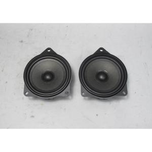 2008-2013 BMW E70 E71 E83 X3 X5 X6 Factory Stereo Mid-Range Speaker Pair OEM