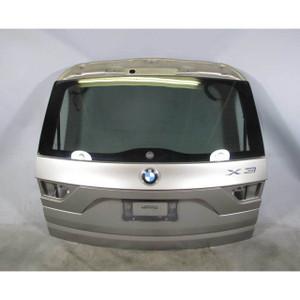 BMW E83 X3 SAV Rear Trunk Tail Gate Door w Windshield Glass Bronze 2004-2010 OEM