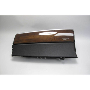 2007-2014 BMW E70 X5 E71 X6 Interior Glove Box Assembly Black Bamboo Wood USED