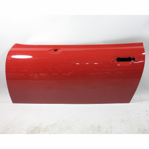 1996-1998 BMW Z3 Non-Airbag Roadster Left Drivers Exterior Door Shell Imola Red