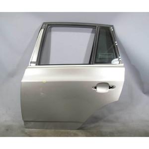 BMW E83 X3 SAV Left Rear Drivers Side Door Shell Titan Silver 2004-2010 USED OEM
