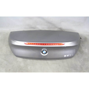 08-10 BMW E64 6-Series Late Convertible Rear Trunk Deck Lid Space Grey Used OEM