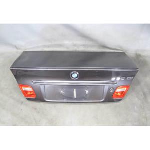 00-06 BMW E46 3-Series Coupe Rear Trunk Deck Lid w/ Spoiler Sparkling Graphite