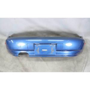 1999-2002 BMW Z3 Roadster Factory Rear Bumper Cover Trim Topaz Blue USED OEM