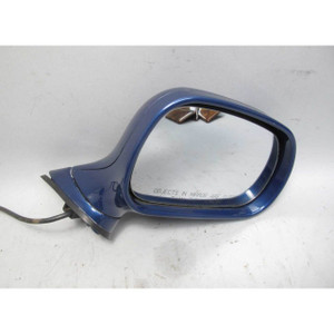97-02 BMW Z3 Roadster Coupe Right Passenger Outside Side Mirror Topaz Blue OEM