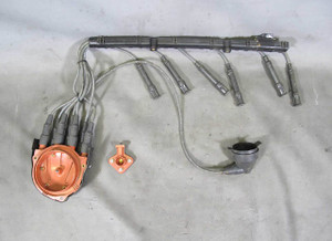 BMW E30 325e M20 2.7L ETA Distributor Cap and Rotor w Ignition Wiring 1984-1987 - 16142