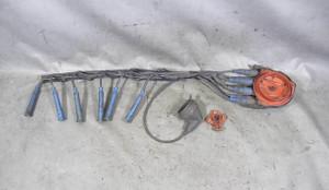 BMW E30 325e M20 2.7L ETA Distributor Cap and Rotor w Ignition Wiring 1984-1987 - 13998