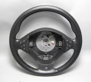 BMW E39 5-Series E38 M ///M Sports Steering Wheel Black Leather Buttons 00-01