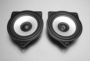 BMW Z4 X3 Top-HiFi DSP Audio Mid-Range Door Speaker Driver Pair 2003-2008 USED - 7181