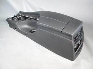 BMW E60 E61 5-Series Front Armrest Center Console Black 2004-2010 USED OEM - 8110