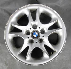 BMW E83 X3 SAV 17x8 Double Spoke Style 111 Factory Alloy Wheel Single 2004-2010 - 10959