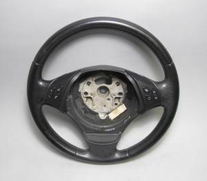 BMW E90 E91 3-Series 4door Multifunction Leather Steering Wheel 2006-2012 USED - 13281