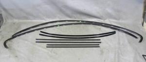 BMW E63 6-Series Coupe Factory Shadow Line High Gloss Black Trim Set 2004-2010 - 12499
