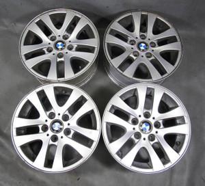 "BMW E90 E91 3-Series 16x7 16"" Style 156 Double-Spoke Factory Alloy Wheel Set 4 - 13003"