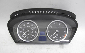 BMW E63 E64 6-Series Instrument Gauge Cluster Panel Speedo Tach 122K USED OEM - 13799