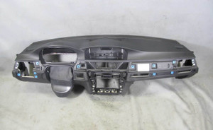 BMW E90 E92 3-Series Interior Dashboard Double Scoop Black for Navigation 06-11 - 14480