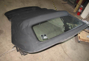 BMW E46 3-Series Convertible Fully-Automatic Folding Top Roof Black USED OEM - 15940