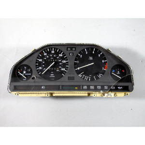 Damaged BMW E30 3-Series Factory Instrument Gauge Cluster Panel Speedo 88-93 OE - 16540
