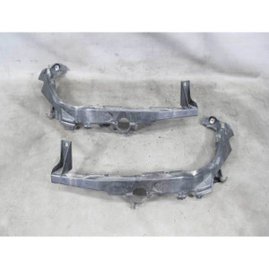 2009-2012 BMW E90 E91 3-Series 4dr Front Headlight Mounting Bracket Pair USED
