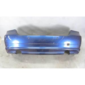 2009-2011 BMW E90 335xi Sedan Factory Rear Bumper Cover Deep-Sea Blue PDC USED