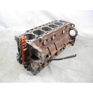 1988-1993 BMW M30 3.5L M30B35 6-Cyl Engine Housing Cylinder Block Bare E24 535