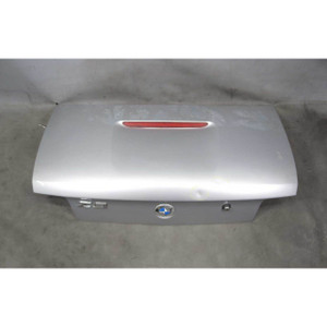 1996-1999 BMW Z3 Roadster Cabrio Rear Trunk Deck Boot Lid Arctic Silver USED OEM