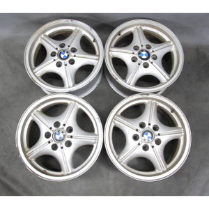 BMW E36 E46 Z3 16x7 Z-Star Style 35 5-Spoke Alloy Wheel Set of 4 1992-2006 USED