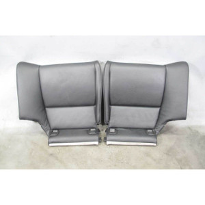 2007-2013 BMW E92 3-Series Coupe Rear Seat Bottom Bucket Black Leather OEM