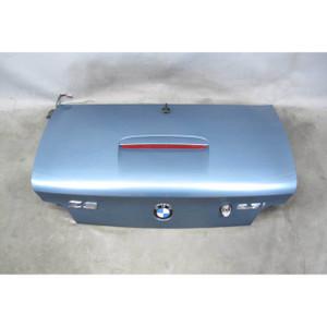 1999-2002 BMW Z3 Roadster Cabrio Rear Trunk Deck Boot Lid Atlanta Blue USED OEM