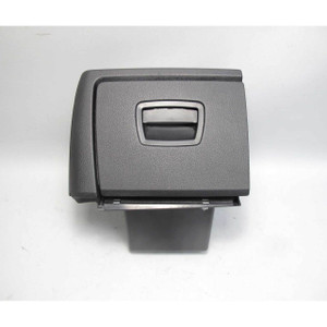 09-15 BMW F01 7-Series Drivers Lower Dahsboard Storage Bin Black Glove Box OEM