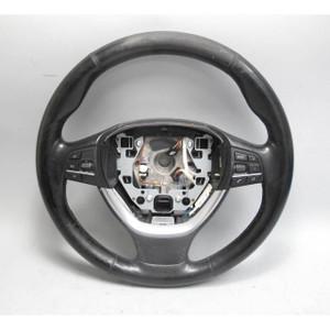 2009-2017 BMW F01 7-Series F10 Factory Sports Steering Wheel w Heating USED OEM