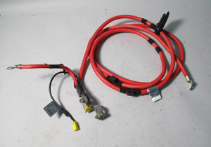 BMW E46 3-Series 4dr Sedan Positive Battery Cable w Terminals B+ 1999-2005 OEM