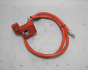 BMW E60 5-Series Sedan Rear B+ Positive Battery Terminal w Cable 2007-2010 USED