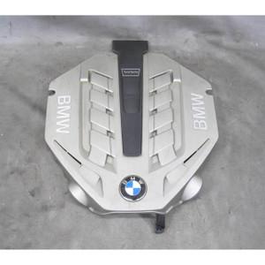2009-2015 BMW N63 N63N 4.4L V8 Factory Plastic Acoustic Engine Cover F01 F10 OEM