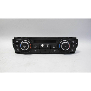 BMW E90 3-Series 1-Series Auto Air Conditioning Climate Control Panel w Wear OEM