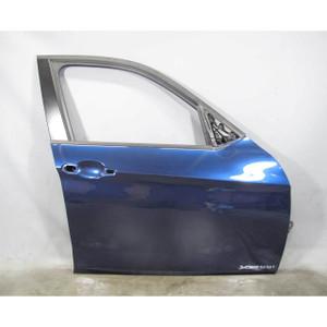2013-2015 BMW E84 X1 SAV Right Front Passenger Exterior Door Shell Deep-Sea Blue