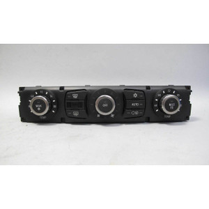 Damaged BMW E60 5-Series E63 Early Climate Fan Control Panel Interface USED OEM