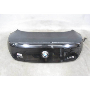 2004-2007 BMW E63 6-Series Coupe Rear Trunk Deck Boot Lid Black Sapphire OEM