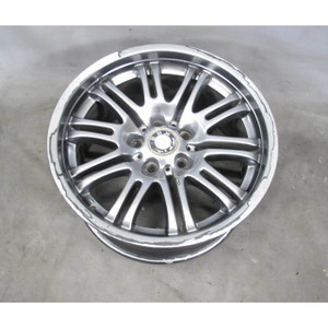 BMW E46 M3 ///M 18x9 Rear Double-Spoke Chrome Shadow Alloy Wheel 2001-2006 OEM