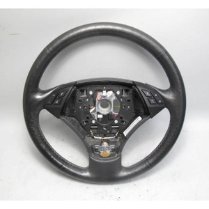 08-10 BMW E60 E61 5-Series Standard Leather Steering Wheel Lane Departure Heat