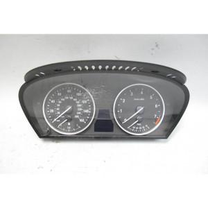 BMW E60 5-Series 6-Cyl Instrument Gauge Cluster Panel Speedo Tach 2006-2010 189k